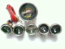 IH Farmall Tractor 2200 RPM Tachometer+Temp+Oil(0-45) Pressure+Ampere+ Fuel +Vol