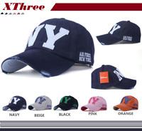 New Baseball embroidery Cap Hip-Hop Hat Adjustable NY Snapback Sport Unisex