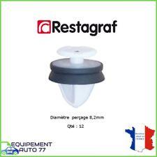 12x AGRAFES PANNEAUX PORTES ET GARNITURES  PEUGEOT 407 - 5008 - 508 - EXPERT 3