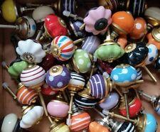 Überraschungspaket! - 12 Stück kleine Knäufe -Möbelknopf Möbelknöpfe Möbelgriff