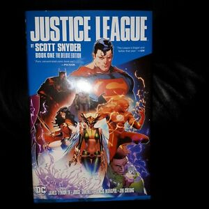 DC Justice League Deluxe Edition Book One Scott Synder