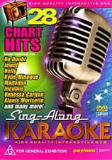 SING-ALONG KARAOKE - 28 CHART HITS DVD