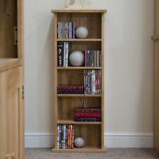 Solid Wood CD Storages Furniture 5 Shelves