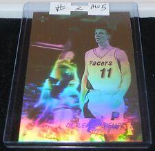 """1991 Upper Deck """"Detlef Schrempf Sixth Man"""" Hologram Basketball Card #AW5 (2)"""