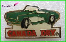 Pin's Boisson CANADA DRY avec une voiture verte  #H1