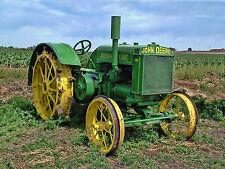 """Rare Vintage John Deere 1930 D30 Farm Tractor Photograph Art Picture 16'x20"""""""