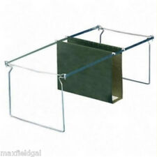 Used 2 Pak LETTER Hanging File Frames For Short Depth File Cabinet