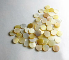 Yellow Abalone Inlay Material 100 pieces Dots 3mm VY 03