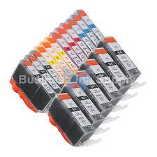 18+ PK PGI-225 CLI-226 Ink for Canon Printer PIXMA iX6520 MG6120 MG8120 *3x4CLR