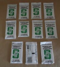 Michigan State University Trading Cards 1st Edition 8 Player Cards 11 Packs