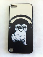 MONKEY WITH HEADPHONE iPod Touch 5 Printing Cover Case for Apple
