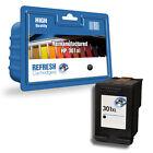 1 remanufacturado HP Hewlett Packard Deskjet CARTUCHO DE TINTA negro HP301XL