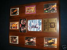 FRAMED SHAQUILLE O'NEAL LIMITED EDITION CARDS