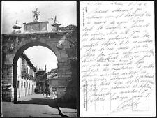 Año 1950/55. RARA Tarjeta Postal. León: Arco de Santa Marina. Nº 4.