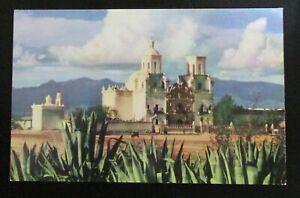 Vintage Postcard San Xavier Mission Tucson Arizona Unposted