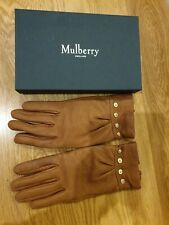 Mulberry Mitzy oak Gloves size L