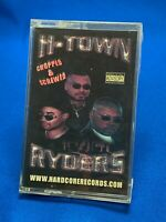 H-Town Ryders Chopped & Screwed Cassette Tape Hardcore Records Houston Rap *RARE