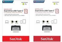 SanDisk Ultra Dual Drive 16GB 32GB Flash-Speicher-Stick, USB 3.1 Typ C Handy PC