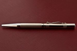 YARD O LED VICTORIAN GRAND BARLEY SOLID STERLING SILVER BALLPOINT PEN