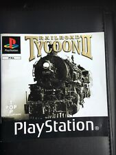 Playstation 1 Instruction Manual Booklet Railroad Tycoon II Ps1