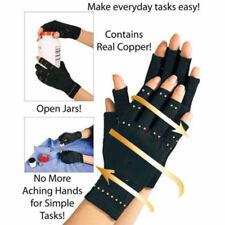 Gant de Compression Cuivre Thérapeutique Mains Arthrose Arthrite Articulations