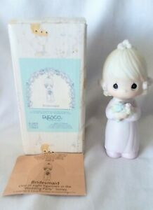 1983 Precious Moments Bridesmaid Wedding Figurine Collection
