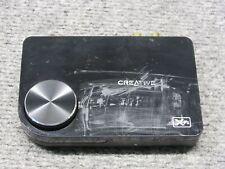 Creative Labs sb1090 X-Fi Surround 5.1 USB Sound Card 5.1 USB *WORKING*