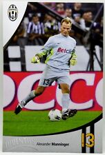 Cartoncino Juventus Stagione 2011/12 - Alexander Manninger