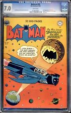BATMAN  #59 (1959)  CGC 7.0 WHITE PAGES  HIGH GRADE 1ST APPEARANCE OF DEADSHOT!