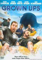 Grown Ups (DVD, 2010) New, Adam Sandler, Kevin James, Chris Rock, Rob Schneider
