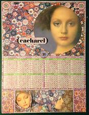 CALENDRIER 1971 CACHAREL SARAH MOON