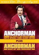Will Ferrell Anchorman Wake up Ron Burgundy Limited Edition 2-disc US R1 DVD