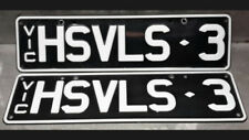 Holden Car and Truck Number Plates
