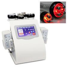 6in1 Vacuum RF Lipo Laser Ultrasonic 40k Cavitation Loss Fat Machine + LLLT Pads