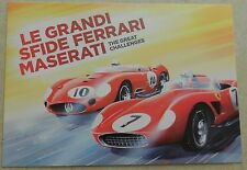 Museo Casa Enzo Ferrari 2012 Modena Karte Card no brochure prospekt book press