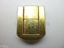 Pair of 25mmX20mm golden lock latch,box hasp,small box hardware,chest hardware