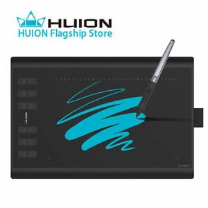 "Huion New 1060 Plus 10x6.25"" 8192 Levels Graphics Tablet USB Digital Drawing"