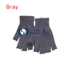 New Unisex Winter Warm Keep Magic Fingerless Half Finger Knitted Gloves Mitten