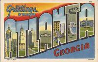 Atlanta, GEORGIA - LARGE LETTER - 1936