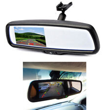 "4.3"" Auto Dimming Anti-Glare Rear View Mirror TFT Monitor LCD Built-in Bracket"