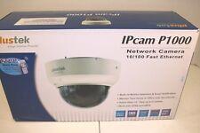 Plustek Dome IPcam P1000 Wired Network Camera with CMOS Sensor - SH01 - NIB