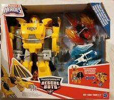 Playskool Heroes Transformers Rescue Bots Knight Watch Bumblebee Figures Toys