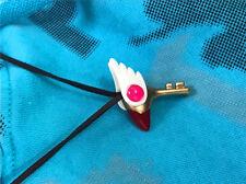 Usa Cosplay Card Captor Sakura Kinomoto Sealing Wand Key Charm Girl Necklace Hot