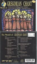 CD--VARIOUS UND VARIOUS -- -- --CD -- THE WORLD OF GREGORIAN CHANT