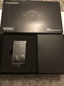 Sony Ericsson W980 Mobile Phone unlocked rare item
