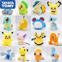 Pokemon Pikachu Eevee Plush Toys Jigglypuff Charmander Gengar Bulbas