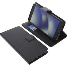 Funda para Asus ZenFone 4 Max zc520kl Book Style Negro Tapa De Gadget