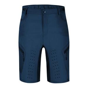 Men's MTB Mountain Bike Cycling Shorts Zipper Pockets Padded Bicycle Short Pants