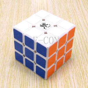Dayan V 5 ZhanChi 3x3x3 Speed Cube Magic Puzzle White Version Smooth & Fast
