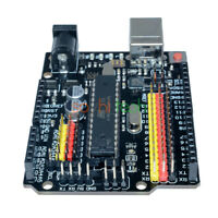 Compatible Arduino UNO R3 PLUS Sensor I/O Shield Atmega328P 16U2 Expansion Board